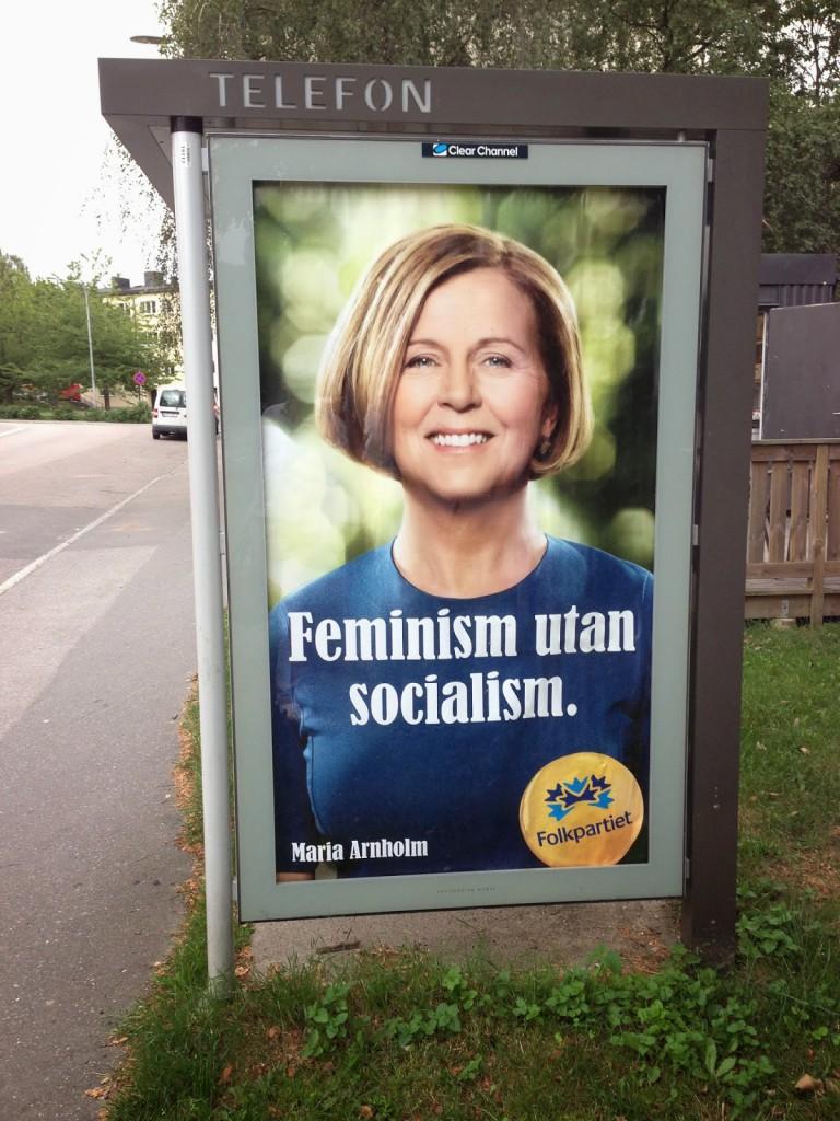 Maria Arnholm - Feminism utan socialism