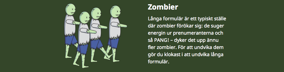 Zombies in marketing
