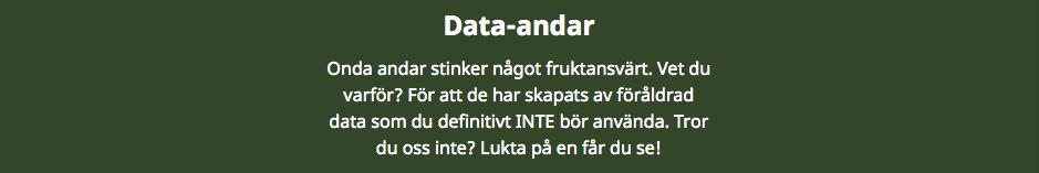 data-andar in marketing