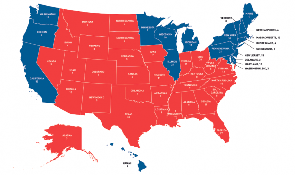 1996 Clinton vs Dole