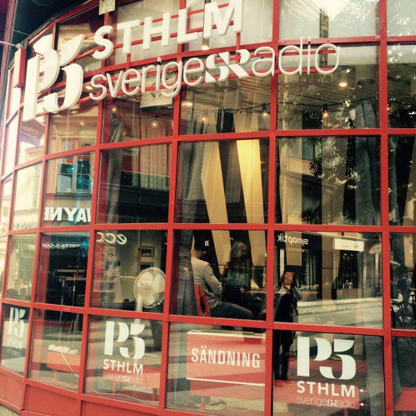 P5 Sveriges Radio studio