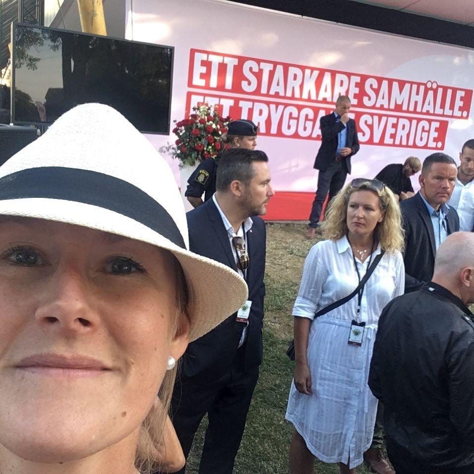 Socialdemokraterna partiledartal Almedalen 2018