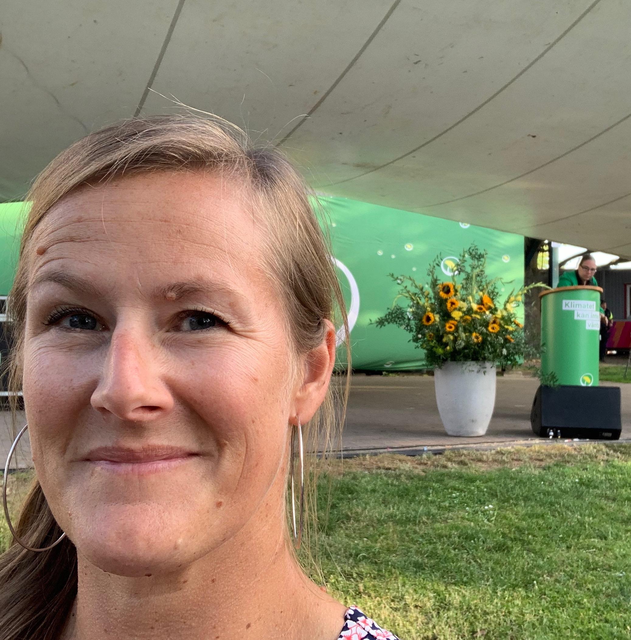 Miljöpartiet partiledartal Almedalen 2019