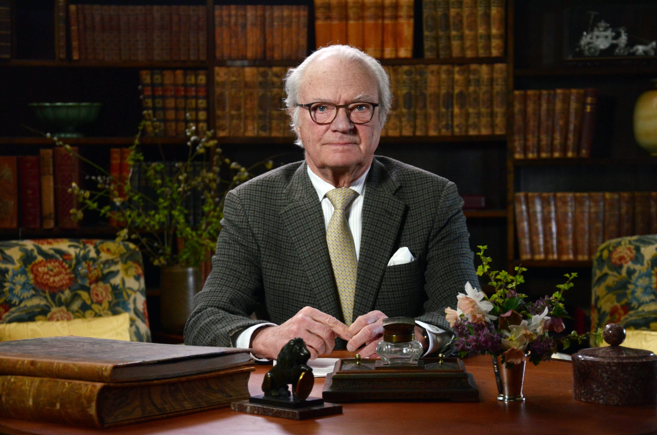 H.M. Konungens hälsning till Sverige